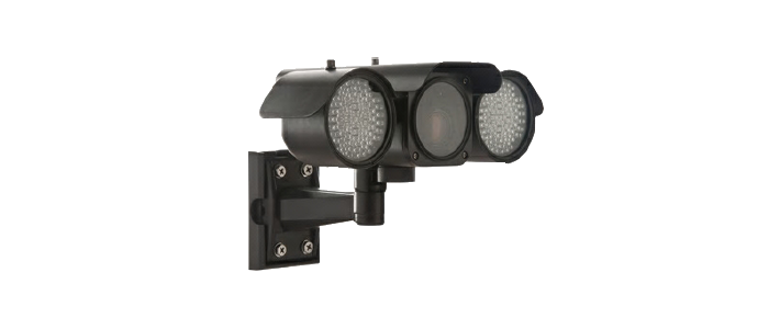 CCTV Security Camera with Twin Lights