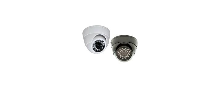 CCTV Telescopic Security Camera Pair