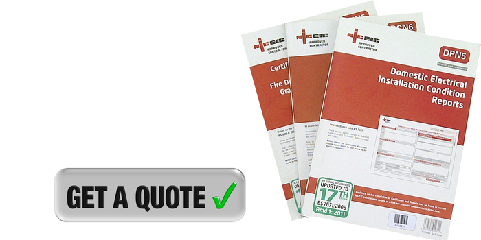 Domestic Electrical Safety Standards Get Quote Banner