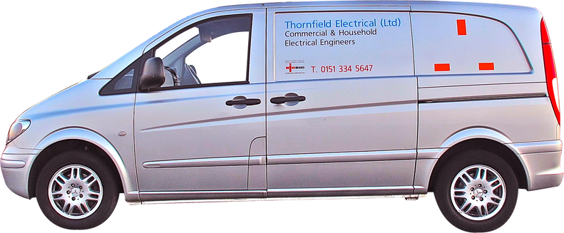 Thornfield Electrical Van Livery